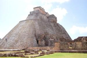 Die Wahrsagerpyramide in Uxmal