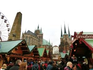 Der Erfurter Weihnachtsmarkt ist noch bis zum 22. Dezember geöffnet