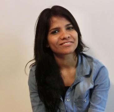 Khushboo Ali ist wie Amin im Waisenhaus aufgewachsen. Sie ist heute Modedesignerin.