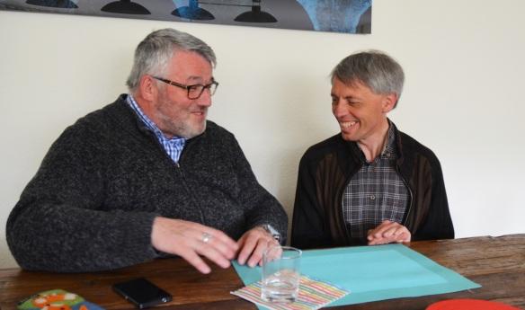 Pfarrer Andreas Fuchs und Pfarrer Stefan Müller arbeiten seit 2003 zusammen.