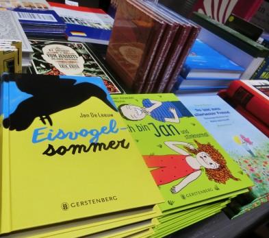 Besonders viele Kinderbücher aus den Niederlanden sind ins Deutsche übersetzt worden und jetzt verfügbar.